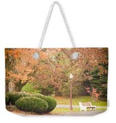 Autumn Stroll Weekender Tote Bag