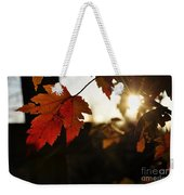 Autumn Sunburst Weekender Tote Bag