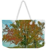 Autumn Sweetgum Tree Weekender Tote Bag