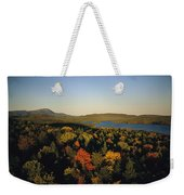 Autumn View Across Baxter State Park Weekender Tote Bag