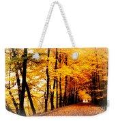 Autumn Walk In Belgium Weekender Tote Bag