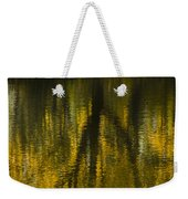 Autumn Water Reflection Abstract I Weekender Tote Bag