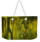 Autumn Water Reflection Abstract IIi Weekender Tote Bag