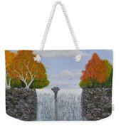 Autumn Waterfall Weekender Tote Bag