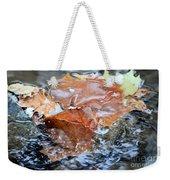 Autumn Waters Weekender Tote Bag