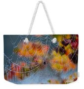 Autumn Web Weekender Tote Bag
