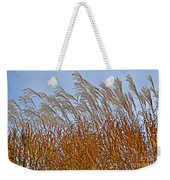 Autumn Wind Through The Grass Weekender Tote Bag
