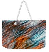 Autumn Winds Impasto Weekender Tote Bag