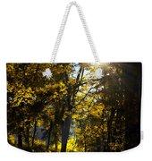 Autumnal Morning Weekender Tote Bag