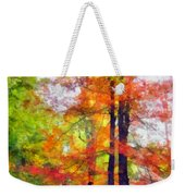 Autumnal Rainbow Weekender Tote Bag