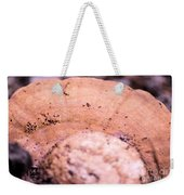Autumn's Abstract Mushroom Weekender Tote Bag