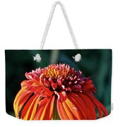 Autumn's Cone Flower Weekender Tote Bag