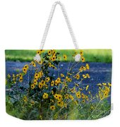 Autumn's Gold At The Lake Weekender Tote Bag