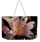 Autumn's Lily Weekender Tote Bag