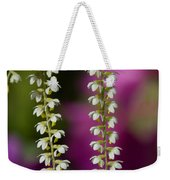 Ava's Fragile Flower Weekender Tote Bag