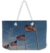 Avenue Of Flags Weekender Tote Bag