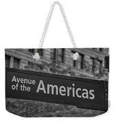 Avenue Of The Americas Weekender Tote Bag