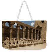 Avenue Of The Sphinx Weekender Tote Bag