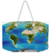 Average Plant Growth Of The Earth Weekender Tote Bag