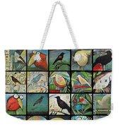 Aviary Poster Weekender Tote Bag