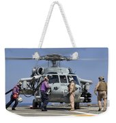 Aviation Boatswain's Mates Run Weekender Tote Bag