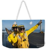 Aviation Boatswain Mates Direct An Weekender Tote Bag