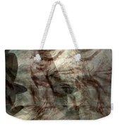Awaken Your Mind Weekender Tote Bag by Linda Sannuti