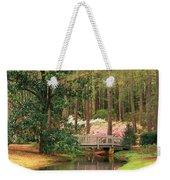 Azaleas And Footbridge Weekender Tote Bag