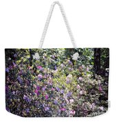 Azaleas In The Forest Weekender Tote Bag