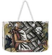 Aztec: Life And Death Weekender Tote Bag