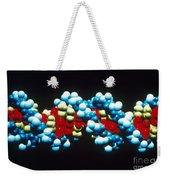 B-dna Molecular Model Weekender Tote Bag by Science Source