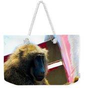 Baboon Weekender Tote Bag