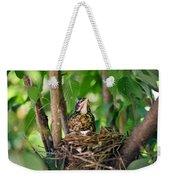 Baby Birds Weekender Tote Bag