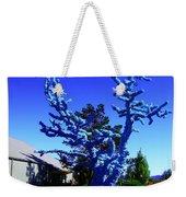 Baby Blue Tree Weekender Tote Bag
