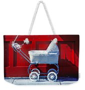 Baby Buggy With Balloons  Weekender Tote Bag