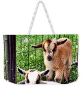 Baby Goats Weekender Tote Bag