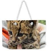 Baby Jaguar Weekender Tote Bag