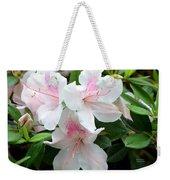 Baby Pink Azaleas Weekender Tote Bag