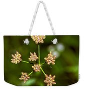 Baby Queen Anne's Lace Weekender Tote Bag
