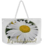 Baby Shower Invitation - Ox Eye Daisy Weekender Tote Bag