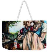 Baby's First Picnic Weekender Tote Bag