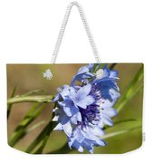 Bachelor Button Blowin In The Wind Weekender Tote Bag