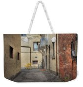Back Alley Cityscape Weekender Tote Bag