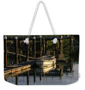 Back At The Harbor Weekender Tote Bag