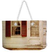 Back Door Of Old Farmhouse Weekender Tote Bag