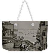Back Door Of Venice Weekender Tote Bag