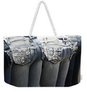 Back End Bling Weekender Tote Bag