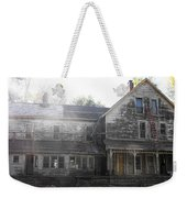 Back Of 1860's Mansion Weekender Tote Bag