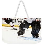 Back To The Crease Weekender Tote Bag