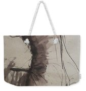 Back Torso - Sketch Of A Female Nude Weekender Tote Bag